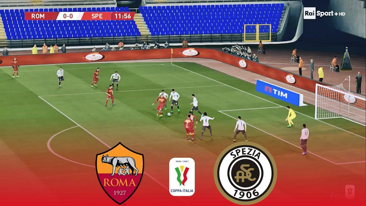 Download AS Roma vs Spezia Calcio   Coppa Italia - Round of 16 (19/01/2021)