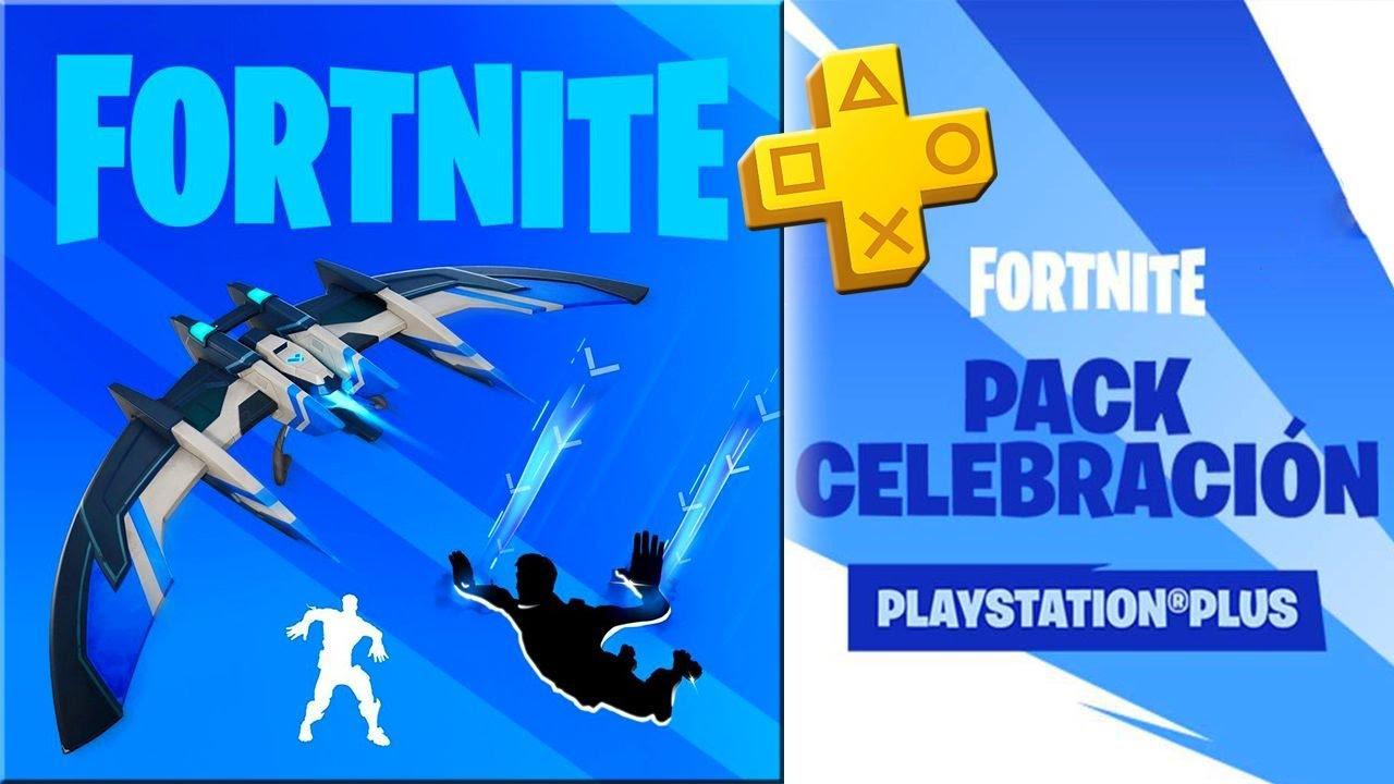 (NUEVO PACK GRATUITO) Paquete de Celebración Playstation Plus en FORTNITE - El mejor baile -