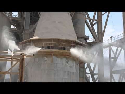 GCT spray system at holcim cement bulacan plant