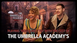 """Playing """"Most Likely To"""" with the cast of The Umbrella Academy"""