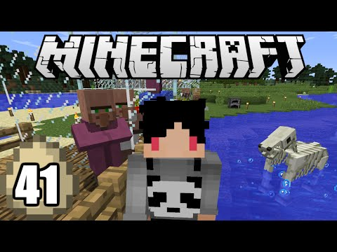Minecraft Survival Indonesia - Farm Villager ala Ibu Peri Trilili! (41)