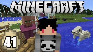 Minecraft Survival Indonesia  Farm Villager Ala Ibu Peri Trilili  41