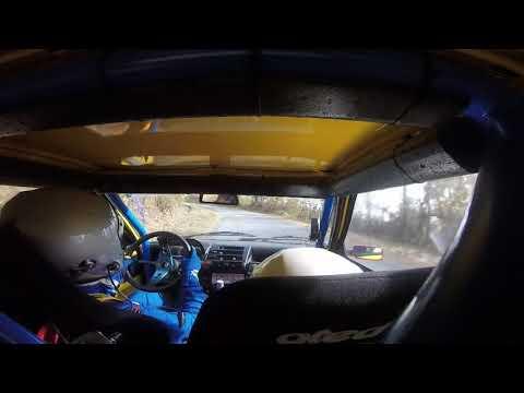 Cameracar Rally del Piemonte 2017 Borgogno-Borgogno Fiat cinquecento A0- PS1 Cigliè-