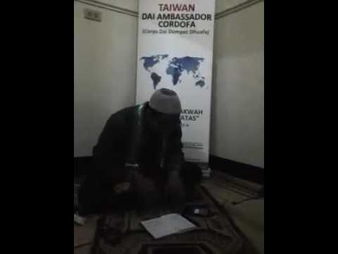 Tausiyah Hidayat Nur Wahid Nurdin Di Taiwan