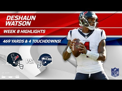Deshaun Watson Shines w/ 469 Total Yards & 4 TDs | Texans vs. Seahawks | Wk 8 Player Highlights