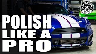 How To Polish Your Car Properly - Mustang GT - Chemical Guys Car Care