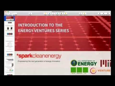 Energy Ventures Series  - Welcome