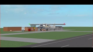 Retford Air Service - France DHC 2 Beaver - France Vol Roblox