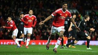 Manchester United 5-1 FC Midtjylland | Goals; Marcus Rashford (2), Memphis, Herrera | REVIEW