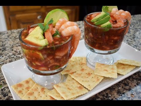 Mexican Shrimp Cocktail, Family Recipe, easy and delicious