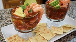 Mexican Shrimp Cocktail, Family Recipe, easy and delicious,