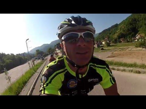 Cycling from Sarajevo to Barcelona 2300km in 22 days