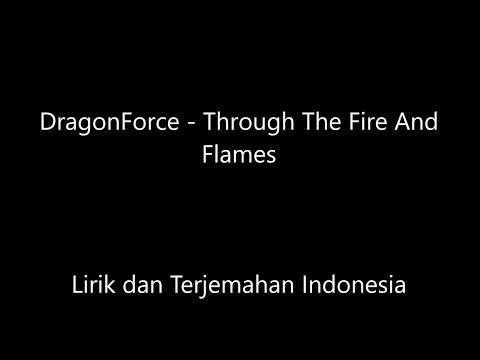 Dragonforce - Through The Fire And The Flames Lirik Dan Terjemahan Indonesia
