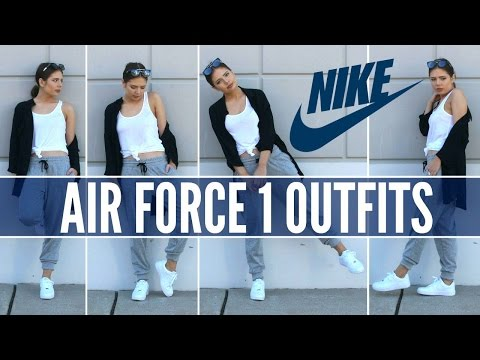 Nike Air Force 1 How To Style Sneakers Youtube