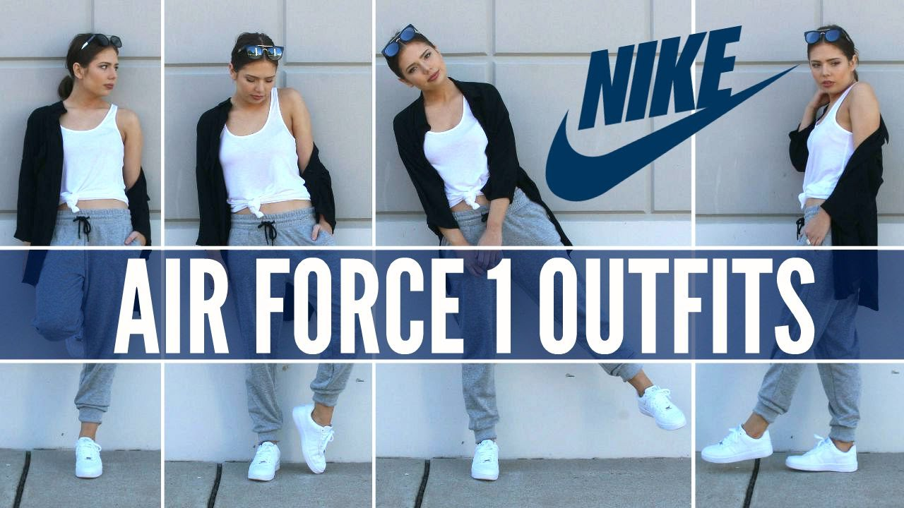 size 40 893b2 d16fa Nike Air Force 1   How to Style Sneakers - YouTube