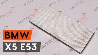 Kako zamenjatifilter kabinenaBMW X5 E53 VODIČ   AUTODOC