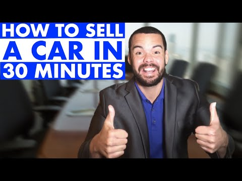 BEST Car Sales Techniques for Selling More Cars (fast)