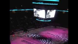 San Jose Sharks Vs Vancouver Canucks 2013 Playoffs Game 3 Opening Sequence