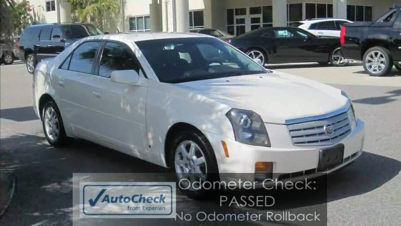 cts 2007 cadillac cts v6 white 1 owner youtube. Black Bedroom Furniture Sets. Home Design Ideas
