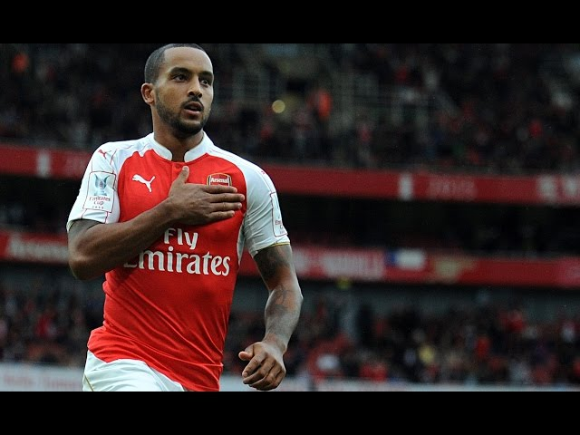 Theo Walcott | Skills & Goals Season 15/16 | Arsenal