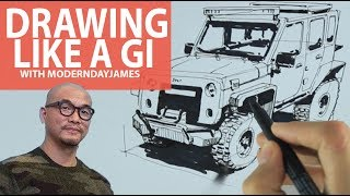 BECOMING A GI: Using forms to draw life