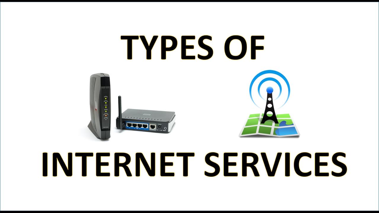 Types Of Internet Services Pdf Pdf Art