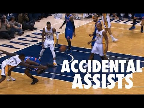 Insane NBA Accidental Assists