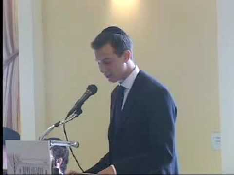 Jared Kushner speaks at Chabad Harvard
