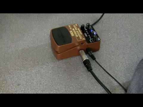 behringer rsm guitar fx pedals review am400 ultra acoustic modeler youtube. Black Bedroom Furniture Sets. Home Design Ideas