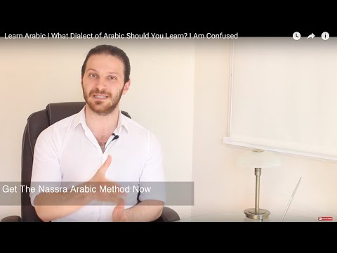Learn Arabic | What Dialect of Arabic Should I Learn? I Am Confused