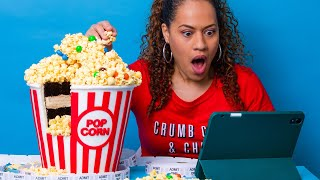 SUPER SIZE Popcorn Cake - Edible Bucket! | How To Cake It with Yolanda Gampp