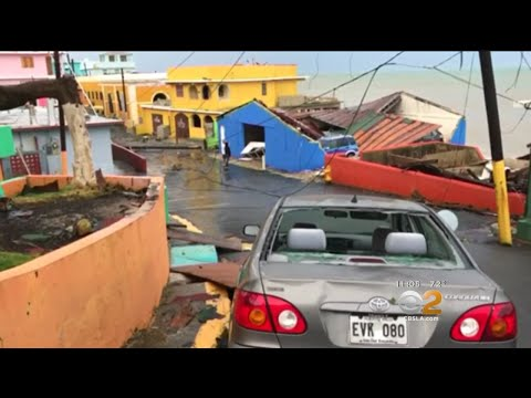 Hurricane Maria Pounds Dominican Republic After Hitting Puerto Rico