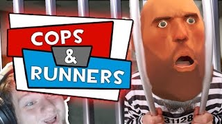 Garry's Mod Cops N Runners : How To Police! (funny Moments!)