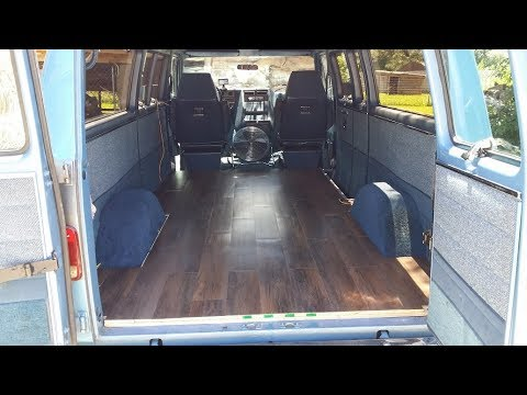 Van Conversion FlooringInsulationWiring