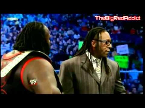 Booker T interviews World Heavyweight Champion Mark Henry Smackdown 9/30/2011