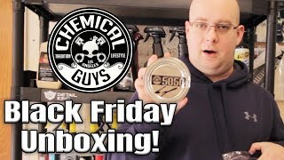 Chemical Guys Massive Product Unboxing! V07 Soap, Tire Shine, Wet Mirror Finish, Petes 53 and More!