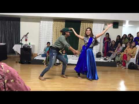 Our performance @Dholki night: Shoma & Anu's funny act