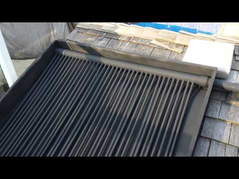 DIY Solar Pool Heater Part 1 Roof  How To Save Money And