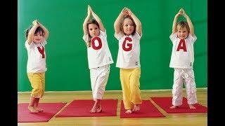 """Приглашение на занятия """"Детская йога"""" г. Хельсинки"""