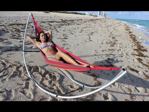 Folding Beach Hammock