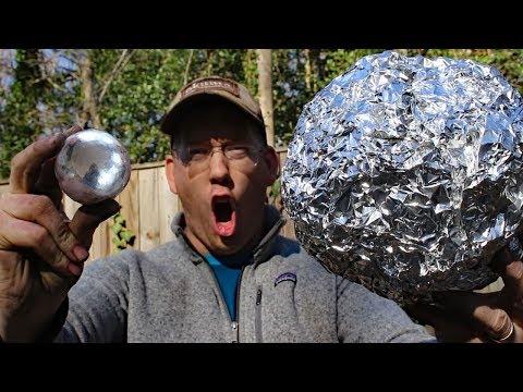 Super Polishing Aluminum Foil Balls –  Doing The Japanese Foil Ball Challenge