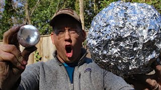 connectYoutube - Super Polishing Aluminum Foil Balls –  Doing the Japanese foil ball challenge