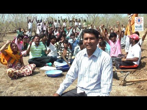 Radi Tanda Works Towards Dream of Saving 40 Lakh Litres of Water (Marathi) (राडीतांडा धावतंय जोरात)