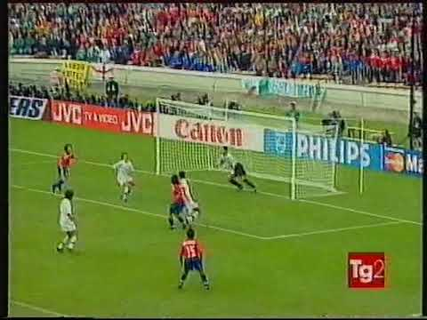 Mondiali 1998 Italia-Cile 2-2 - World Cup1998 Italy-Chile 2-2 highlights