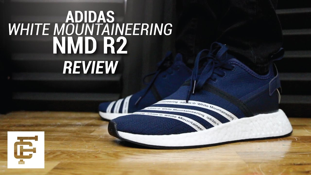 info for 11307 9817d ADIDAS X WHITE MOUNTAINEERING WM NMD R2 REVIEW