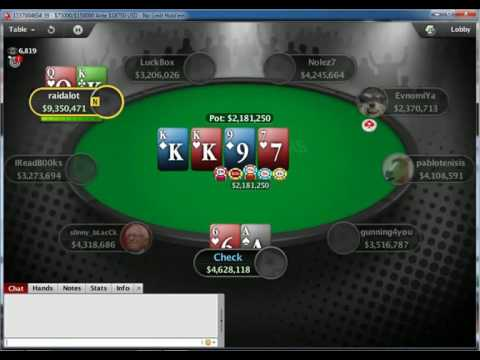 2016 SCOOP Main Event 10K Final Table on Pokerstars