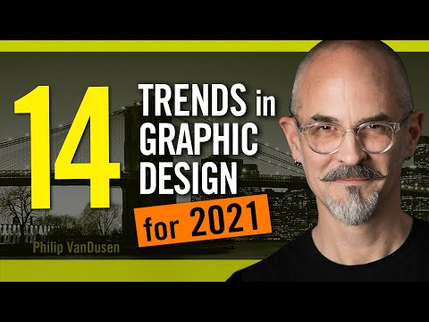 14 Trends in Graphic Design for 2021