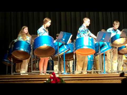 GHS Steel Band -- Jolly Old St. Nicholas -- 12/22/10