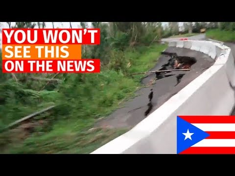 SURVEYING PUERTO RICO OUTSIDE SAN JUAN (112 days post-Maria)