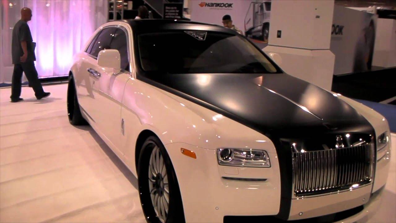 DUBSandTIREScom 2012 Rolls Royce Ghost Review 24
